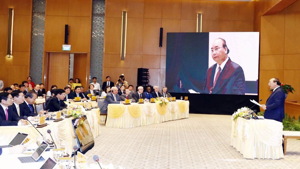 Thủ tướng Nguyễn Xuân Phúc, chủ trì, cuộc họp qua hệ thống e-Cabinet