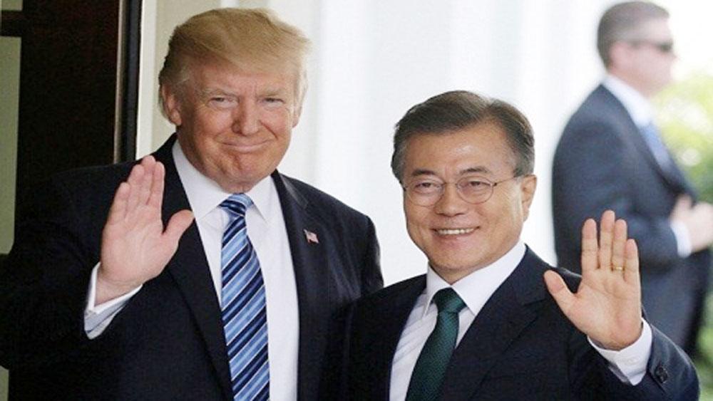Hàn Quốc, thông báo, kế hoạch, chuyến thăm của Tổng thống Mỹ Donald Trump