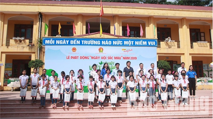 "Bac Giang responds to drawing contest ""For a Green Vietnam"""