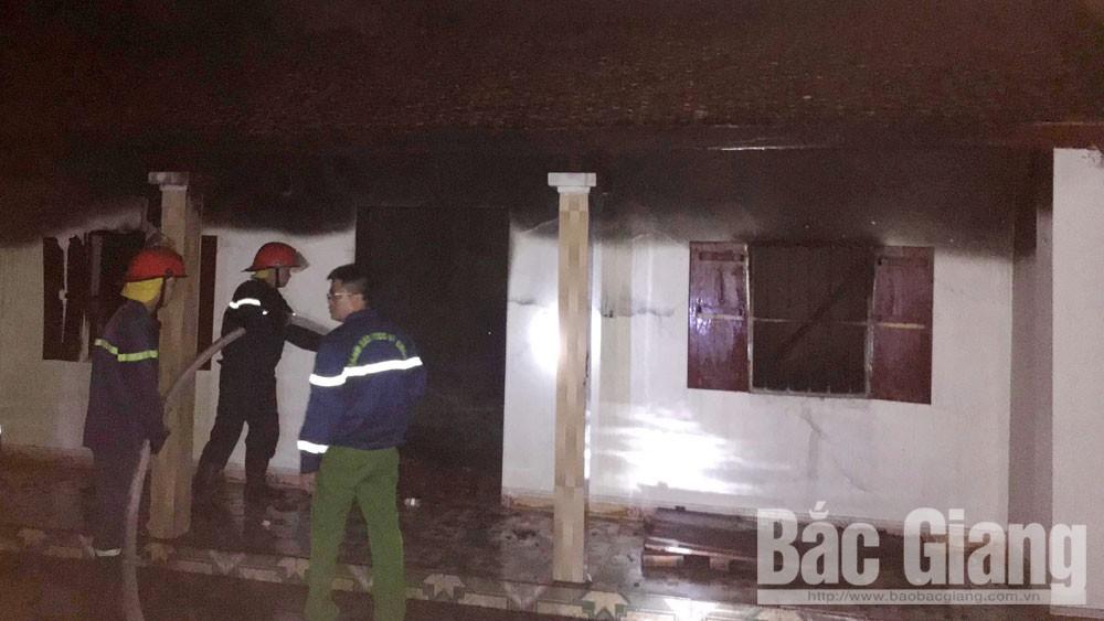 Công an tỉnh Bắc Giang, ngáo đá, hỏa hoạn, Yên Dũng, Bắc Giang