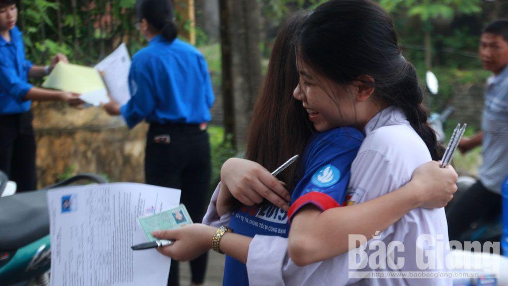 Thi THPT quốc gia 2019, tốt nghiệp, ban chỉ đạo thi, thi môn Ngữ văn, tự luận, Bắc Giang, điểm thi, thí sinh, coi thi,