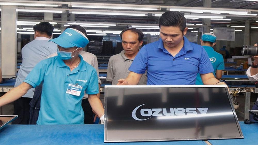 Yêu cầu, xác minh thông tin Asanzo, nhập hàng nước ngoài gắn nhãn Việt Nam, Công ty cổ phần Ðiện tử Asanzo Việt Nam