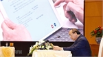 PM chairs first gov't meeting via e-Cabinet system
