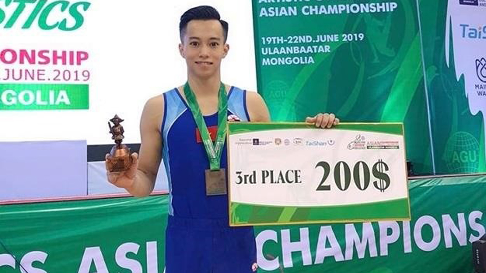 Vietnam win two Asian gymnastic bronzes