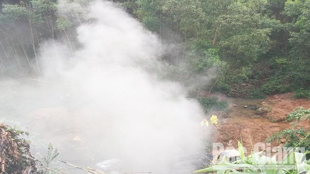 Đổ trộm hóa chất ở Lục Nam, Sở Tài nguyên và Môi trường, huyện Lục Nam, Bắc Giang