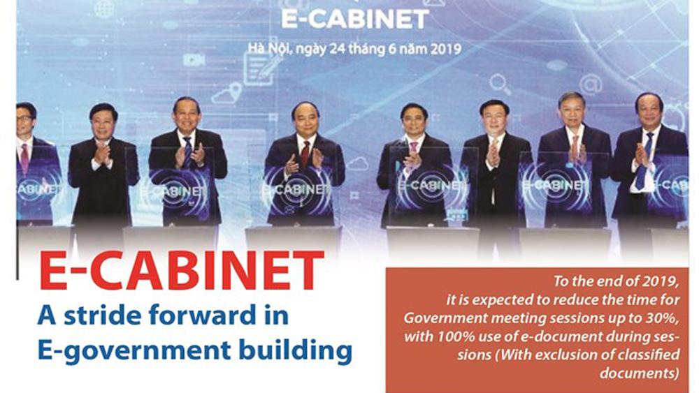 E-Cabinet- a stride forward in E-government building