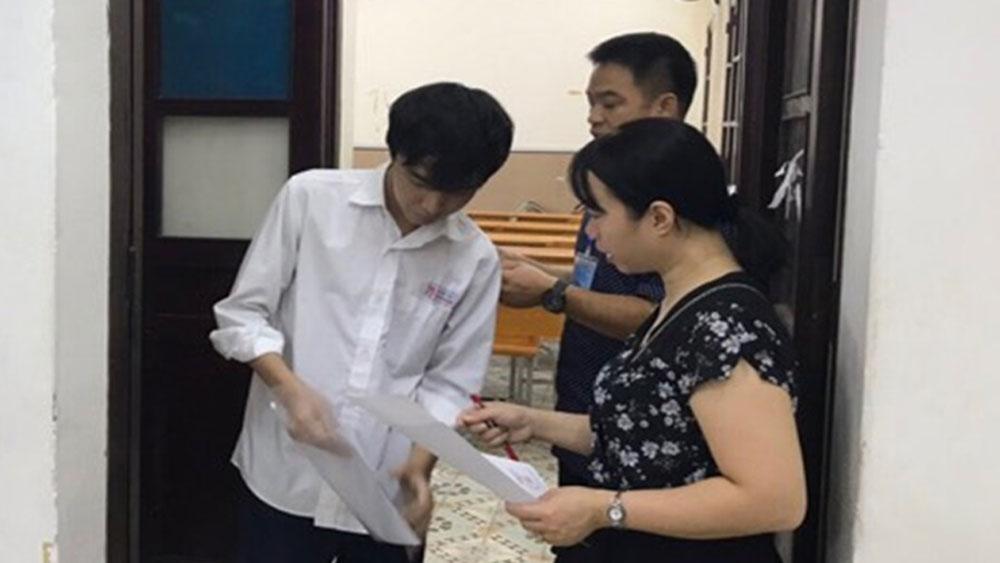 34 thí sinh vi phạm,  ngày thi đầu tiên, kỳ thi THPT Quốc gia 2019