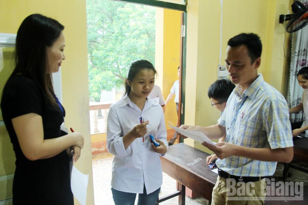 thi THPT quốc gia, bắc giang, giáo dục, thi cử, khoa học tự nhiên, THpT Thái Thuận, Lục Ngạn sô 5