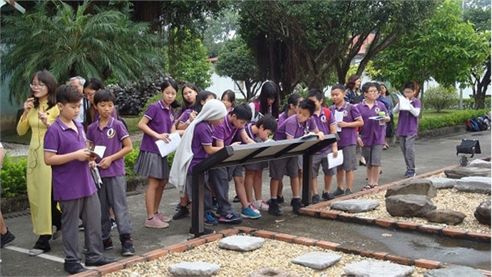 Nurturing the love for heritage among children