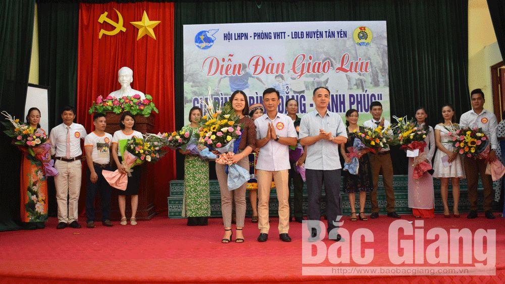 Diễn đàn; Tân Yên, gia đình, Ngày Gia đình Việt Nam.