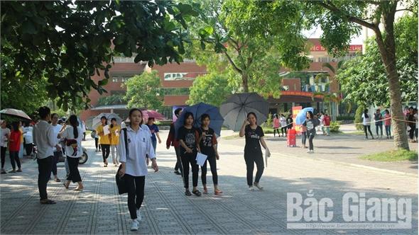 Nhiều thí sinh Bắc Giang làm bài tốt môn Ngoại ngữ