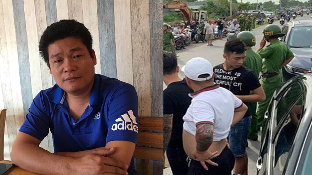 """Khởi tố, giám đốc gọi giang hồ, """"vây"""" xe chở công an, Nguyễn Tấn Lương, Công ty TNHH Phú Gia Lương"""