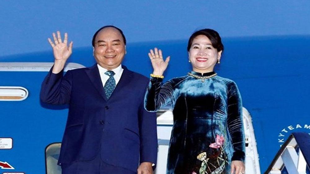 Thủ tướng Nguyễn Xuân Phúc, lên đường, tham dự, Hội nghị Thượng đỉnh G20, thăm Nhật Bản
