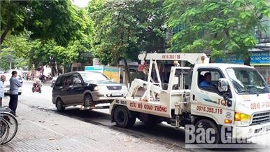 Chấn chỉnh tình trạng đỗ xe lộn xộn ở TP Bắc Giang