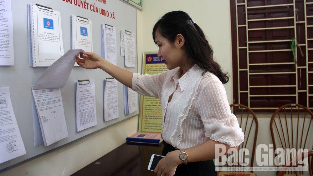 Kiểm tra cải cách hành chính, sở nội vụ, một cửa, tp bắc giang, đồng chí Lại Thanh Sơn, Phó Chủ tịch UBND tỉnh Bắc Giang