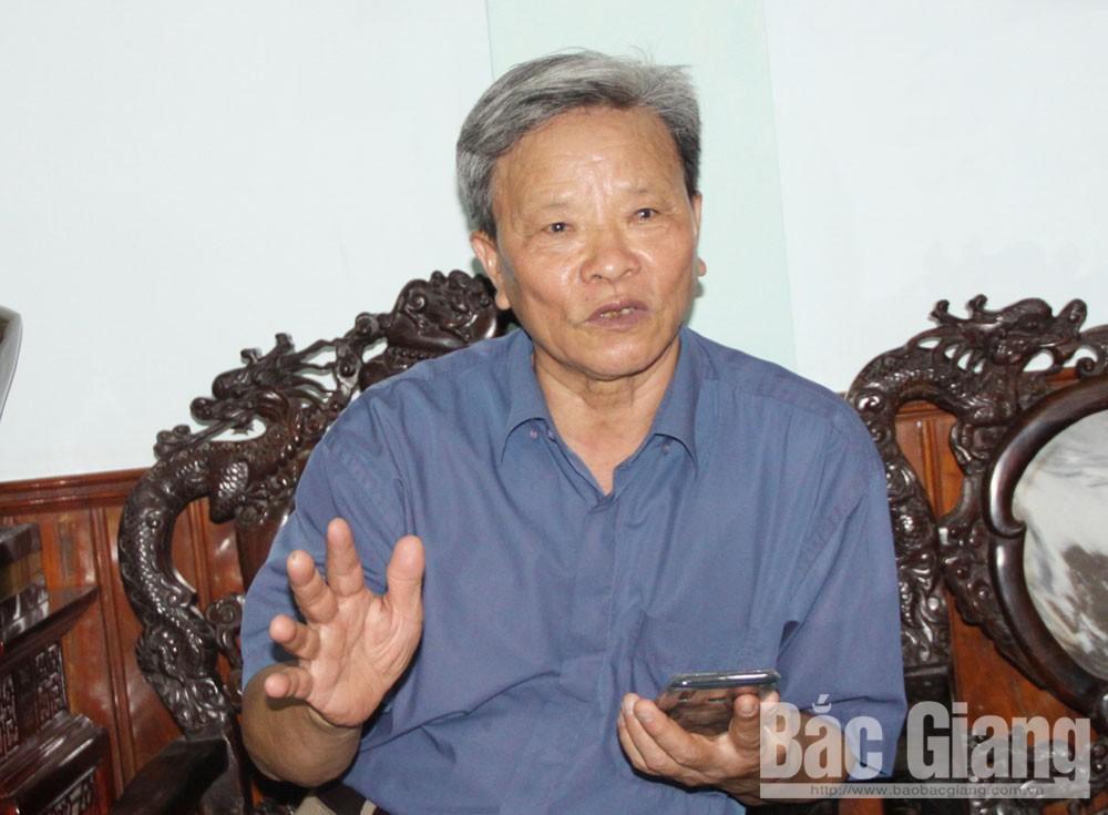 Bắc Giang, Nguyễn Văn Phả, nguyên Phó Chủ tịch UBND huyện Tân Yên, lòng tin yêu, Đảng
