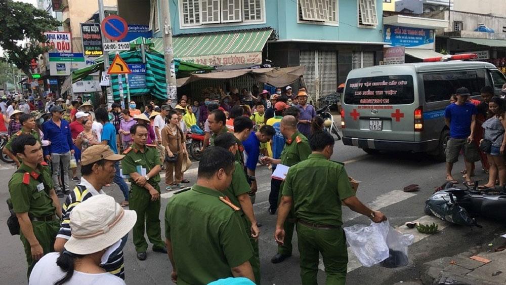 Tông chết cô gái trên đường TP Hồ Chí Minh, tài xế taxi, xuống nhìn rồi bỏ đi