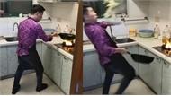 Khi đàn ông trổ tài nấu ăn