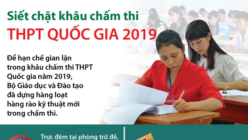 Siết chặt khâu chấm thi THPT Quốc gia 2019