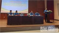 Lãnh đạo LĐLĐ tỉnh Bắc Giang đối thoại với công nhân lao động các khu công nghiệp