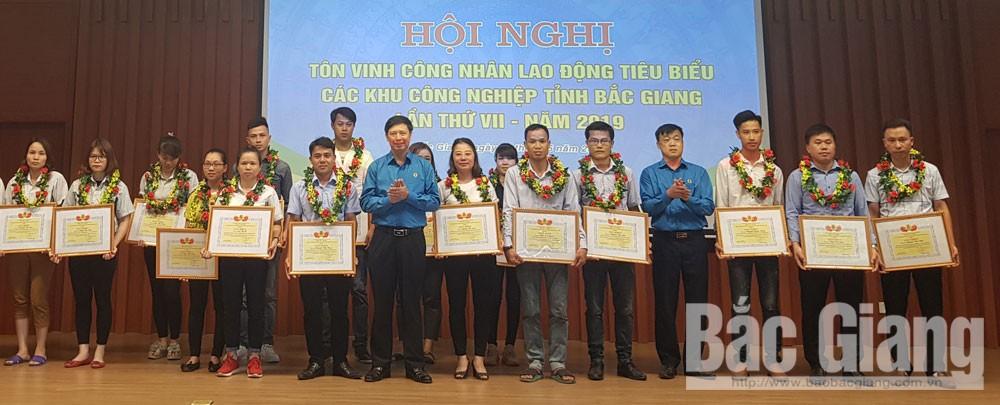 đối thoại công nhân lao động, LĐLĐ tỉnh, các khu công nghiệp, Bắc Giang