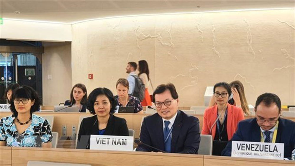 Vietnam, UN Human Rights Council, 41st session, Women's rights, climate change, extreme weather phenomena