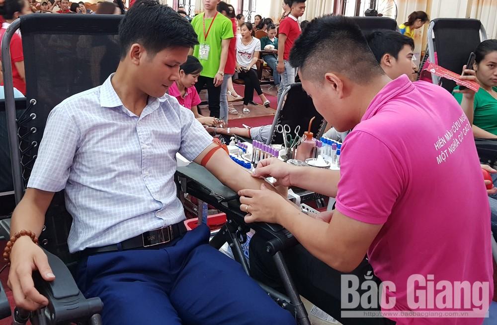 TP Bắc Giang, hiến máu tình nguyện, hoa hậu doanh nhân Việt - Hàn