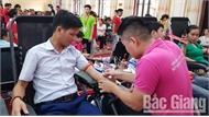 TP Bắc Giang: 645 người tình nguyện hiến máu