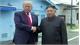 Tổng thống Trump  và nhà lãnh đạo Kim Jong-un bắt tay nhau trên lãnh thổ Triều Tiên