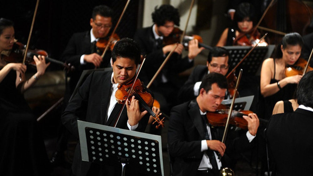 Vietnam, Int'l Music Competition, Violin and Chamber Music, fifth anniversary,  prestigious competitions, famous music academies