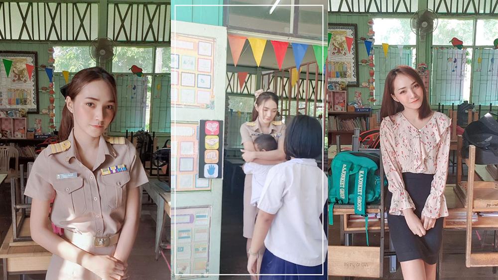 Cô giáo trẻ và hành động lạ mỗi sáng khiến nhiều người 'muốn làm học trò'