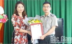 Ông Trần Minh Trọng giữ chức Phó Cục trưởng Cục Thi hành án dân sự tỉnh Bắc Giang
