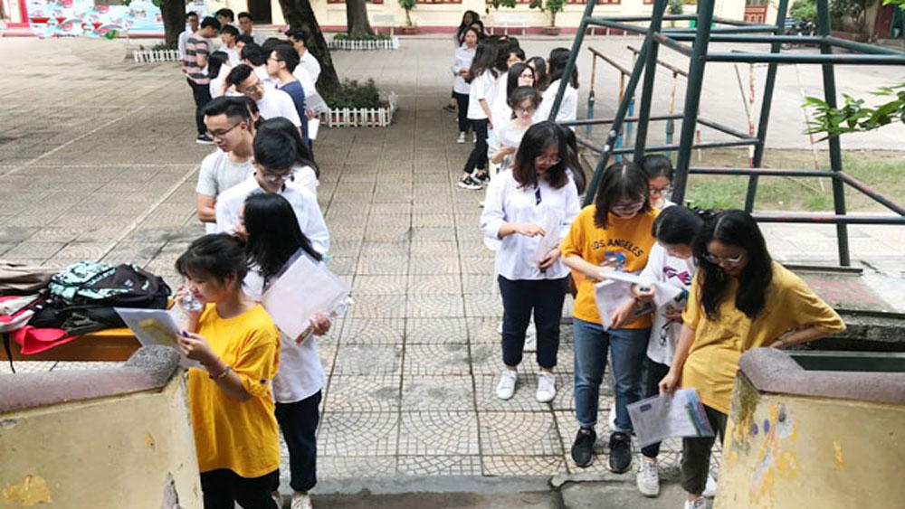 Hôm nay, Bộ Giáo dục và Đào tạo, dự kiến, công bố đáp án các môn thi Trắc nghiệm