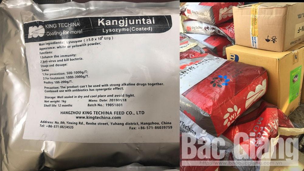 Vỏ bao bì sản phẩm Kangjuntai loại 1kg (màu trắng) và loại 25kg (màu đỏ).