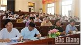 Lục Nam tổ chức hội nghị tập huấn Luật Quốc phòng năm 2018