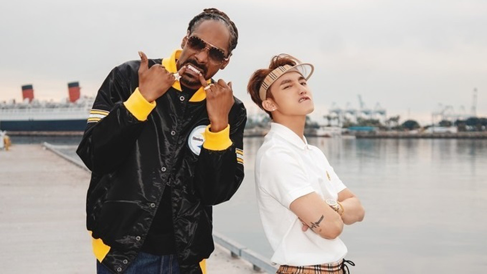 Vietnamese pop star, Snoop Dogg, YouTube, new music video, Son Tung M-TP, immediate global impact, Hay Trao Cho Anh, Give It To Me, veteran rapper, Madison Beer