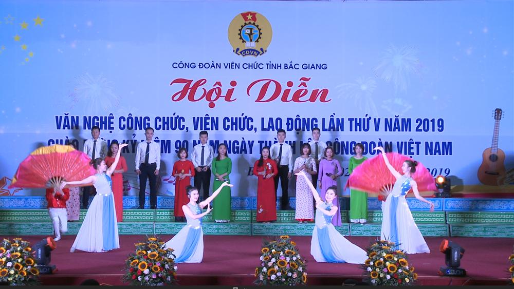 Công đoàn Viên chức tỉnh Bắc Giang: Sôi nổi phong trào văn nghệ