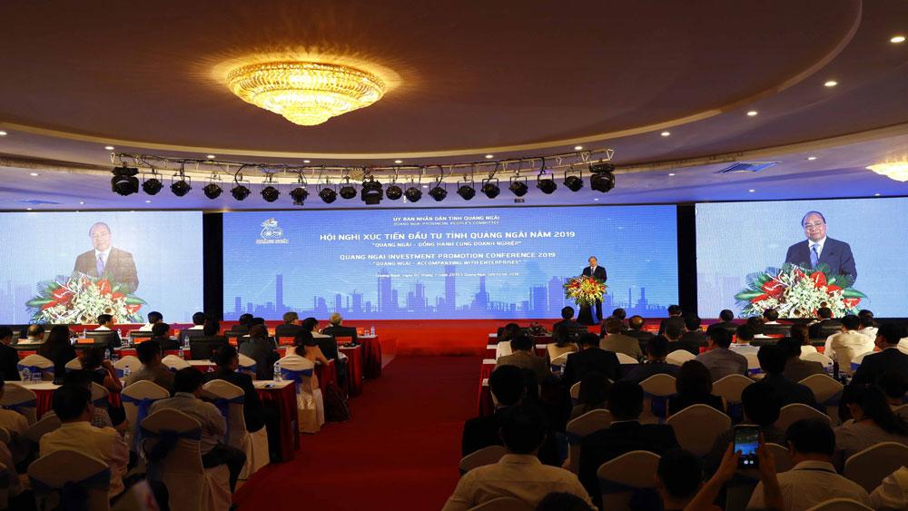Thủ tướng Nguyễn Xuân Phúc, Quảng Ngãi, trân trọng từng đồng vốn đầu tư