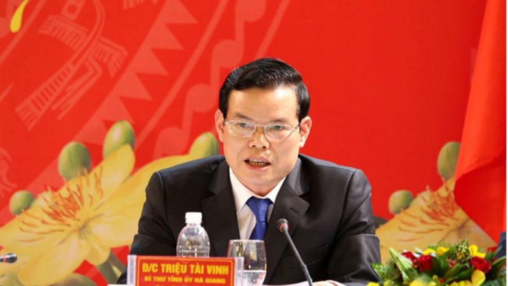Ông Triệu Tài Vinh giữ chức Phó Trưởng ban Kinh tế Trung ương