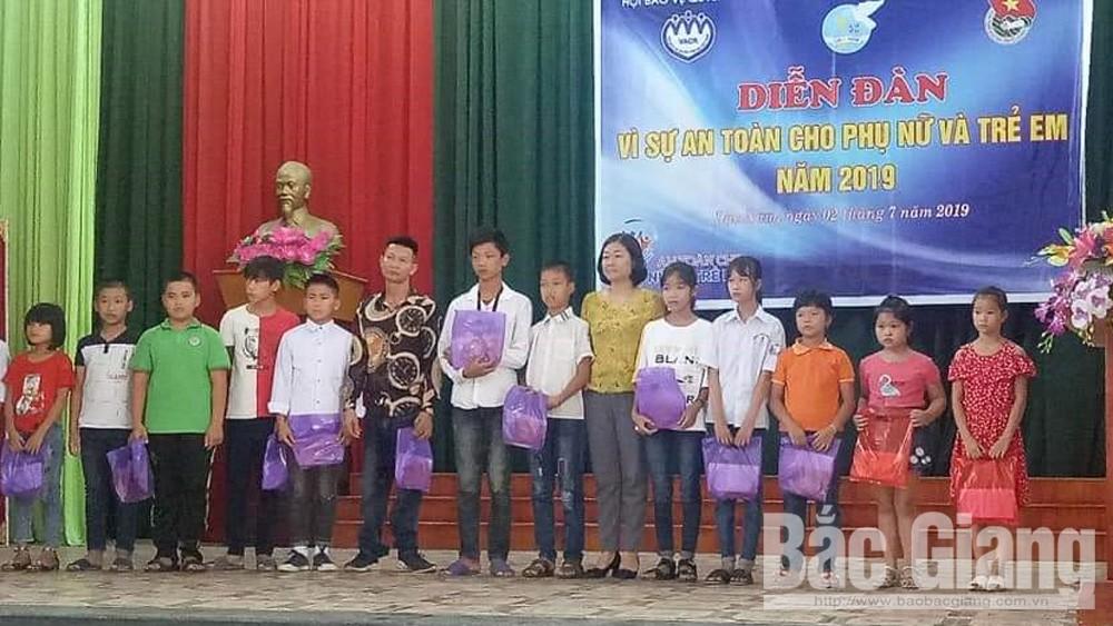Lục Nam tổ chức diễn đàn vì sự an toàn cho phụ nữ và trẻ em
