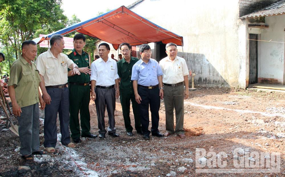 Quân đoàn 2, hỗ trợ kinh phí xây nhà, nạn nhân chất độc màu da cam