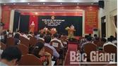 Khai mạc kỳ họp thứ 9, HĐND TP Bắc Giang: Kinh tế TP tiếp tục tăng trưởng khá