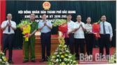 Kỳ họp thứ 9 HĐND TP Bắc Giang khóa XXI:  Bầu ông Nguyễn Hữu Đính giữ chức Phó Chủ tịch UBND TP