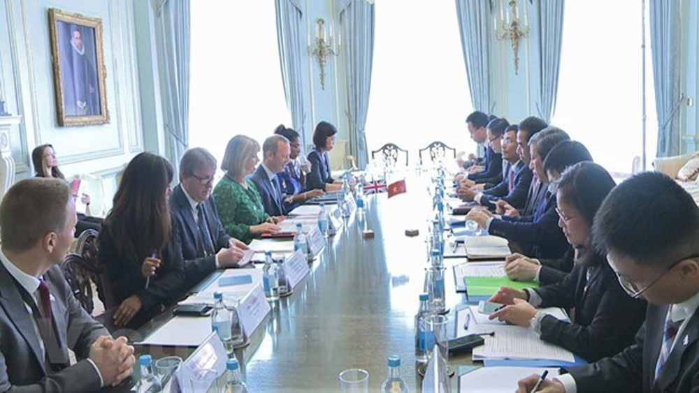 Vietnam, UK, 7th strategic dialogue, sustained progress, sustainable economic growth, education and cultural exchanges