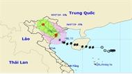 Bão đổ bộ vào Hải Phòng-Nam Định, Bắc Bộ và Bắc Trung Bộ mưa lớn