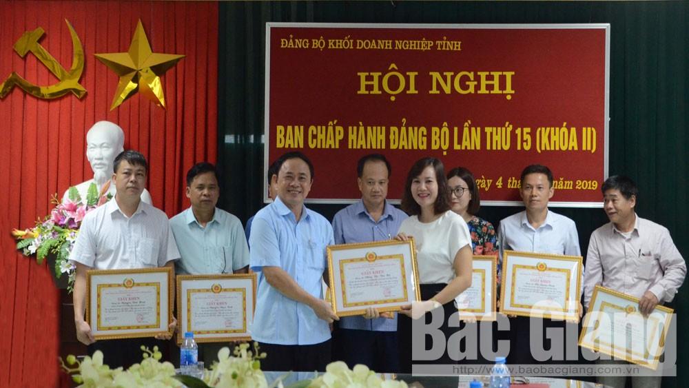 Đảng ủy Khối Doanh nghiệp, khen thưởng, cá nhân tiêu biểu, làm theo Bác