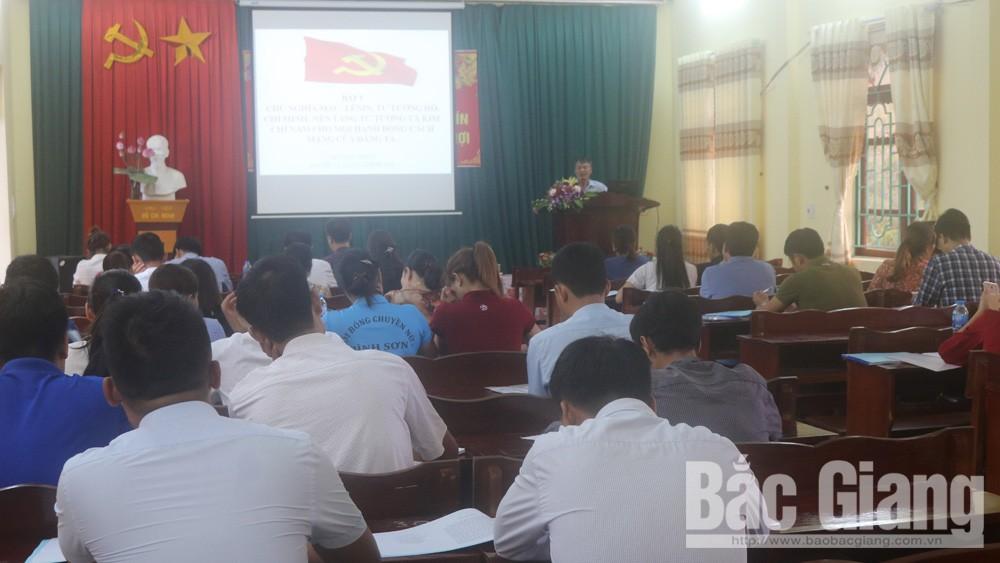 Lục Nam khai giảng lớp sơ cấp lý luận chính trị