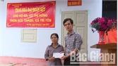 Trao nhà đoàn kết cho hộ nghèo tại xã Trí Yên