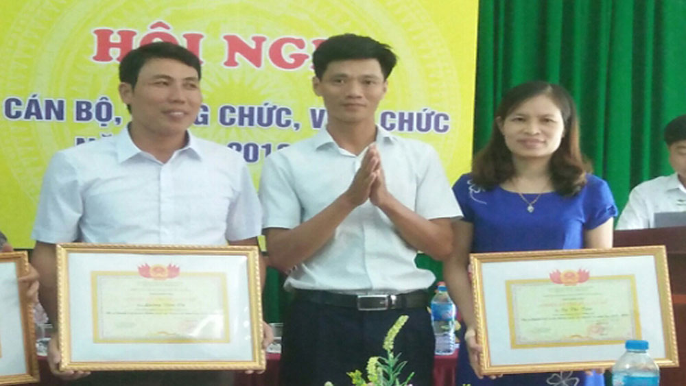 Bac Giang province, many excellent students, Geography, teacher Ta Thi Tien, Dong Son Secondary School, professional regulations, teaching method, bright model