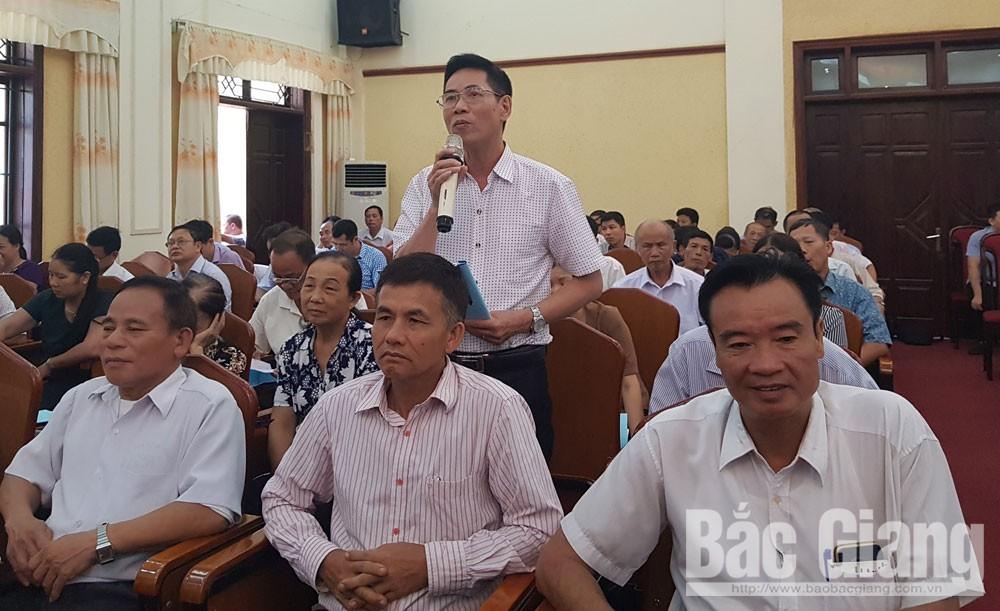 Thành ủy, giao ban với bí thư chi bộ, TP Bắc Giang